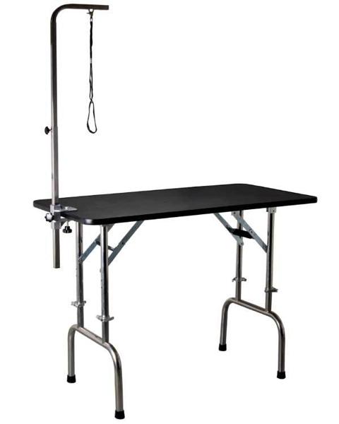 Kép: Állítható magasságú kutyakozmetikus asztal, L