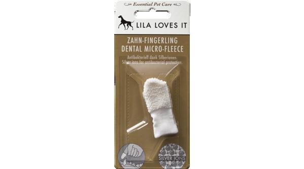 Kép: Lila Loves It - Ujjra húzható ezüstionos fogkefe