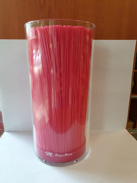 Kép: Átlátszó olló- és szerszámtartó (pink)
