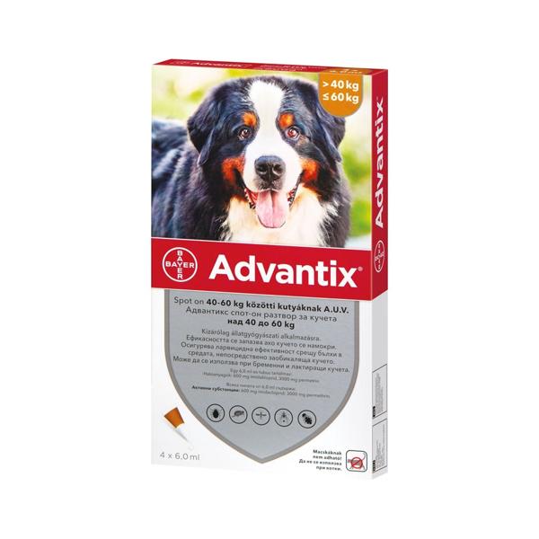 Picture of Advantix Spot On, 40-60 Kg