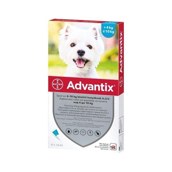Picture of Advantix Spot On,4-10 Kg