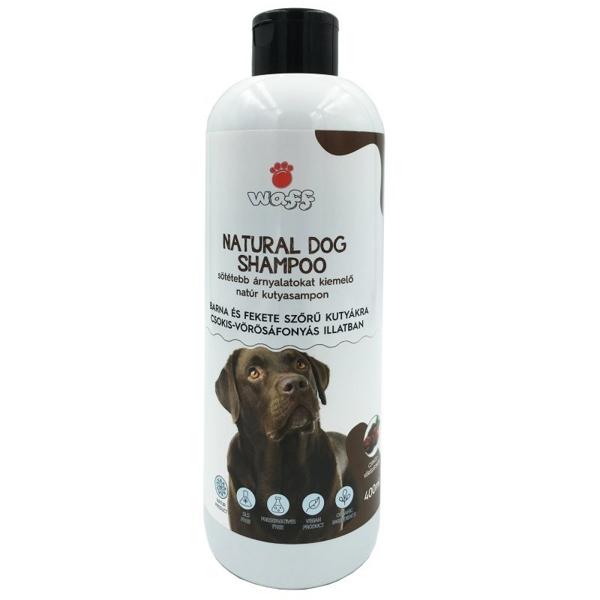 Kép: Waff Kutyasampon Barna és Fekete Szőrzetre, 400 ml
