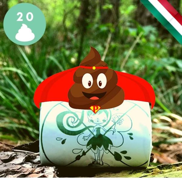 Kép: Zooro - PoopHero Lebomló és Komposztálható Kakizacsi