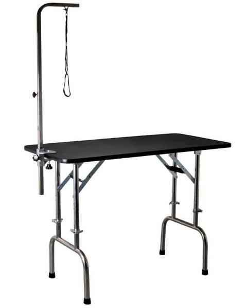 Kép: Állítható magasságú kutyakozmetikus asztal